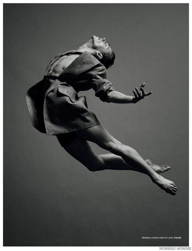 Sergei Polunin Dances for Numéro Homme Fashion Shoot image Sergei Polunin Numero Homme 2014 Photo Shoot 003
