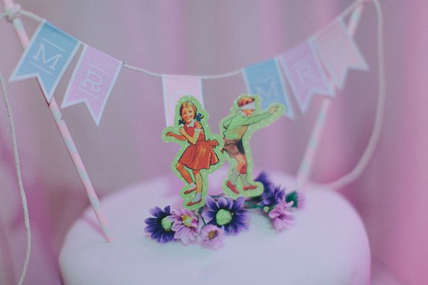 Cute cartoon cake toppers | www.onefabday.com