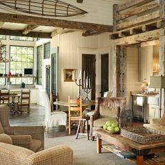 : Nequette Architects, Ideas, Interior, Livingrooms, Rustic Living Rooms, Traditional Living Rooms, Dungan Nequette, Room Design