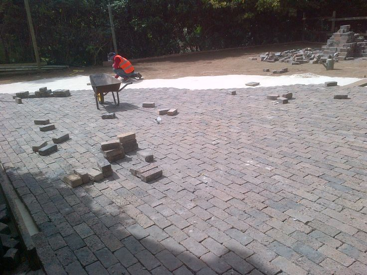 How about a bit of some paving work?
