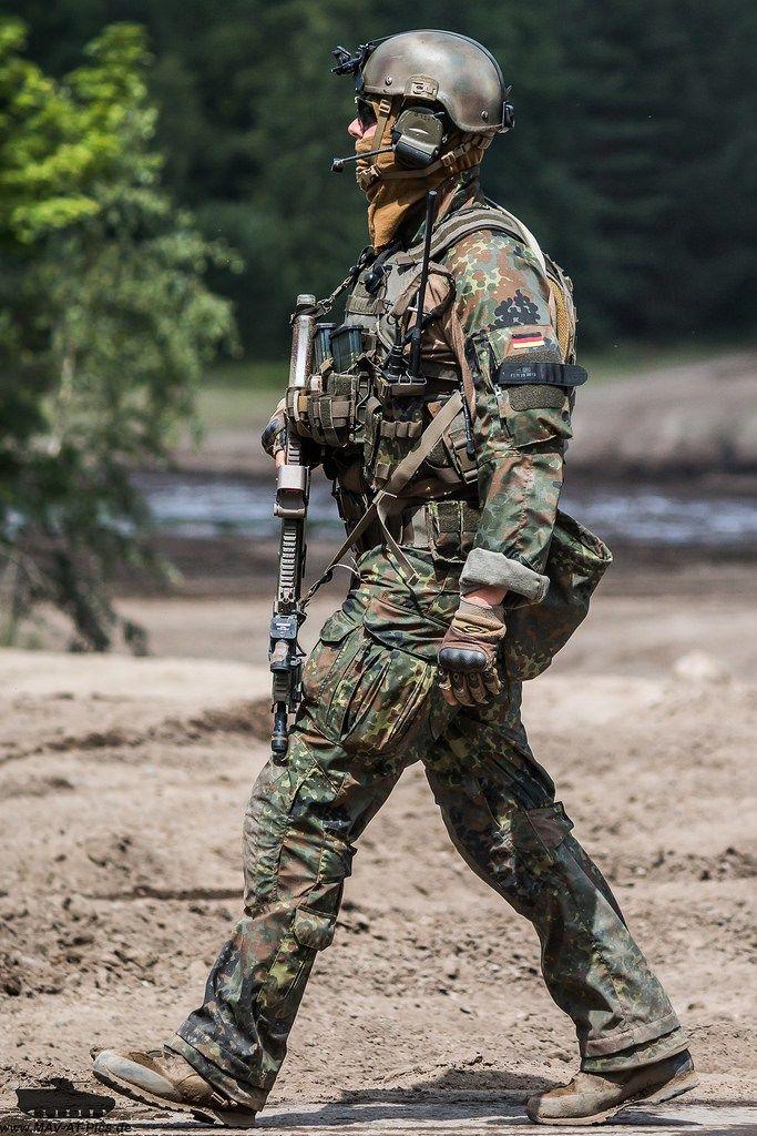 German SF KSK trooper  (July 2016)