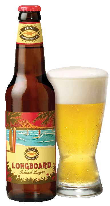 Kona Brewing Co.: Longboard Lager (4.6 %ABV) A nicely executed Lager from the Kona crew. Goes down smooth and at 4.6, it's basically a light beer. Aloha!