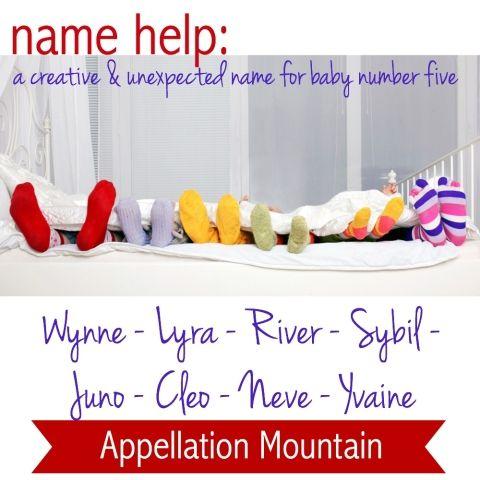 Name Help: Naming baby number five
