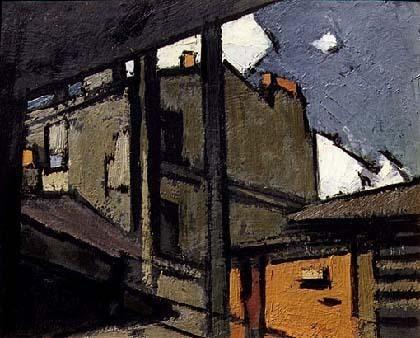 Toits de Paris<br>1919- 1924 - Paris - Frédéric FIEBIG