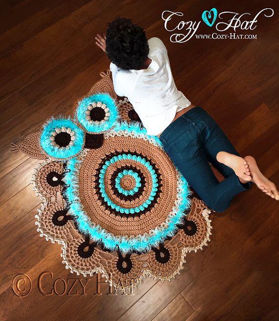 Crochet Owl Rug Pattern: 697 Best Images About Gotta Learn To Crochet On Pinterest