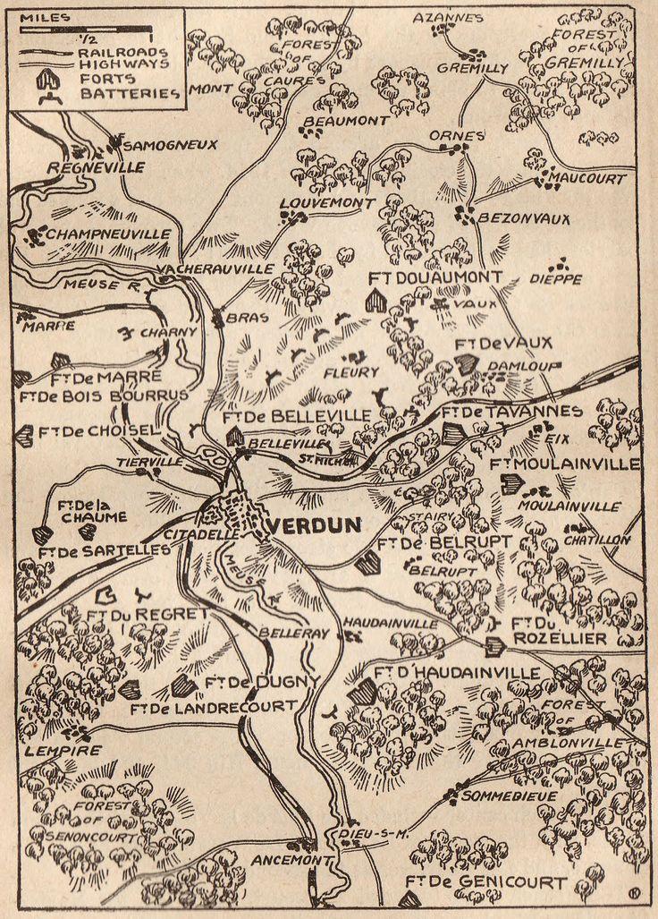 World War I Map