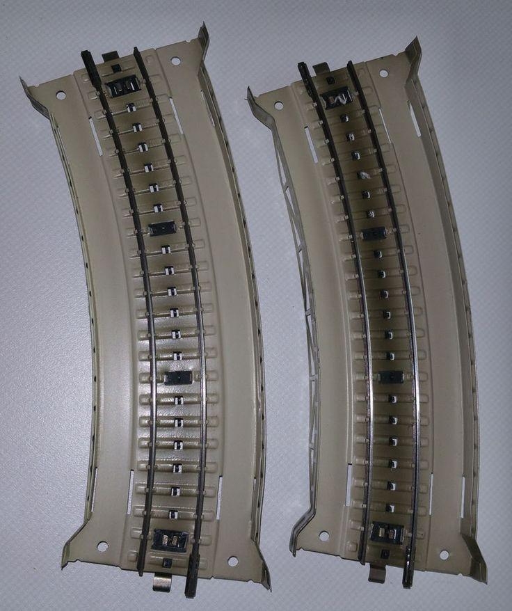 2 x Märklin 7167,Brückenrampen,gebogen aus Metall,H0,Krümmung wie Gleisstück5100 in Modellbau, Modelleisenbahn, Spur H0   eBay
