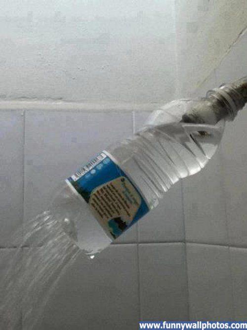 Redneck shower head