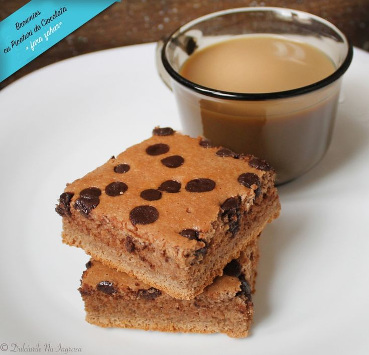 Brownies (fara zahar, fara gluten, continut scazut de grasimi)