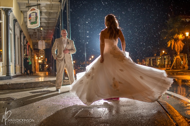 Tropical Storms Can't stop a couple in love | Beryl | St. Augustine Wedding