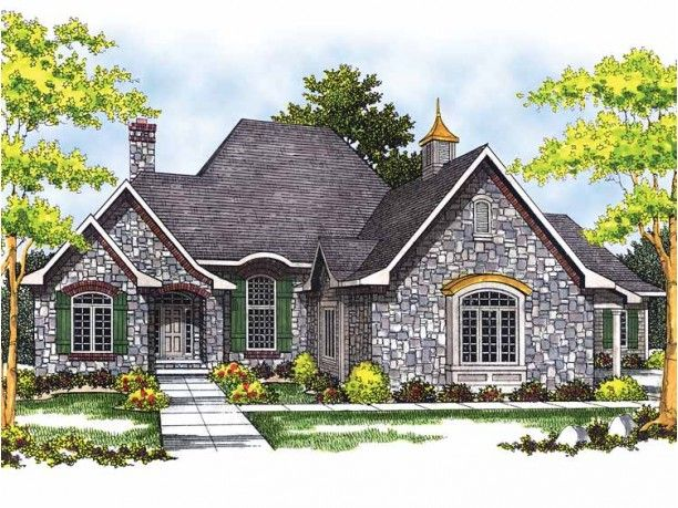 54 best architecture tudor style homes images on for French country tudor house plans