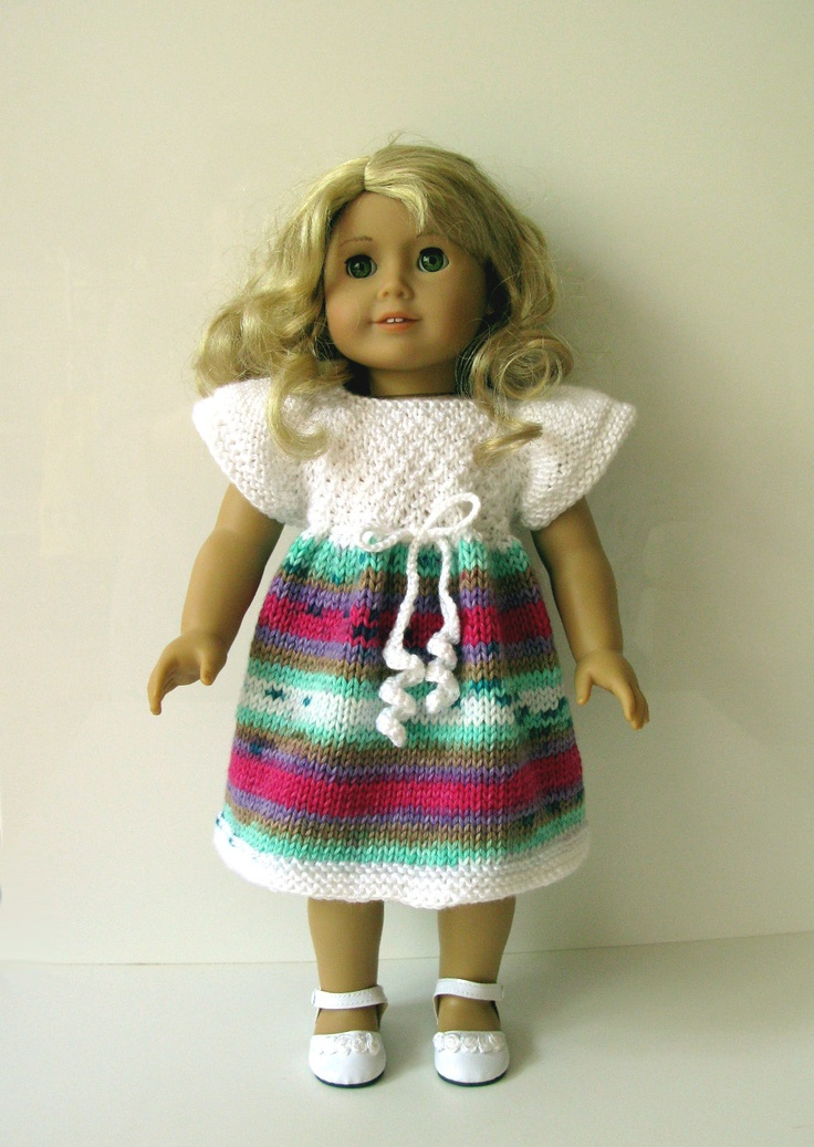 234 best AMERICAN GIRL doll (plus) knitting patterns PLUS some other ...