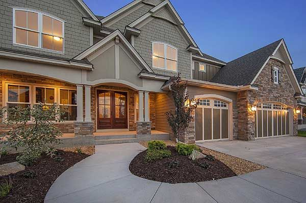 Plan 73330hs craftsman with amazing great room house plans exterior colors and lakes for Amazing exterior house designs