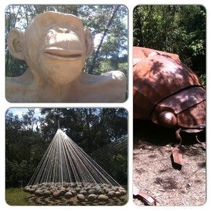 mcclelland gallery + sculpture park - great day out for everyone. Bigger than Heide too.