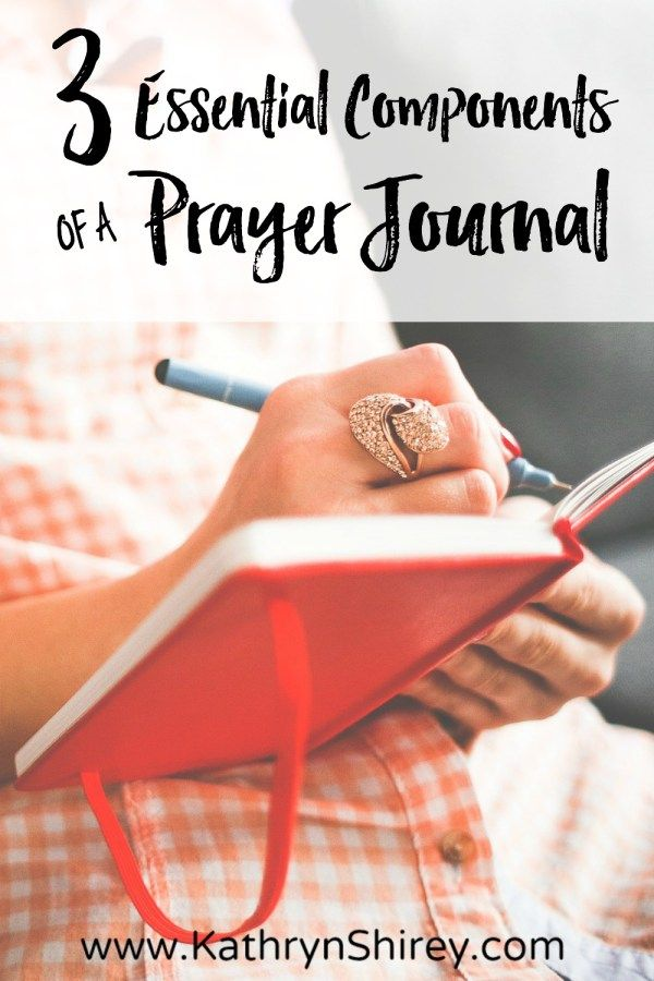 If prayers are conversations with God, then journaling prayer is like writing Him love notes. Include these 3 essential components in your prayer journal. {+free printable prayer card}