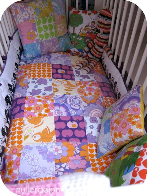 Fint sengetæppe