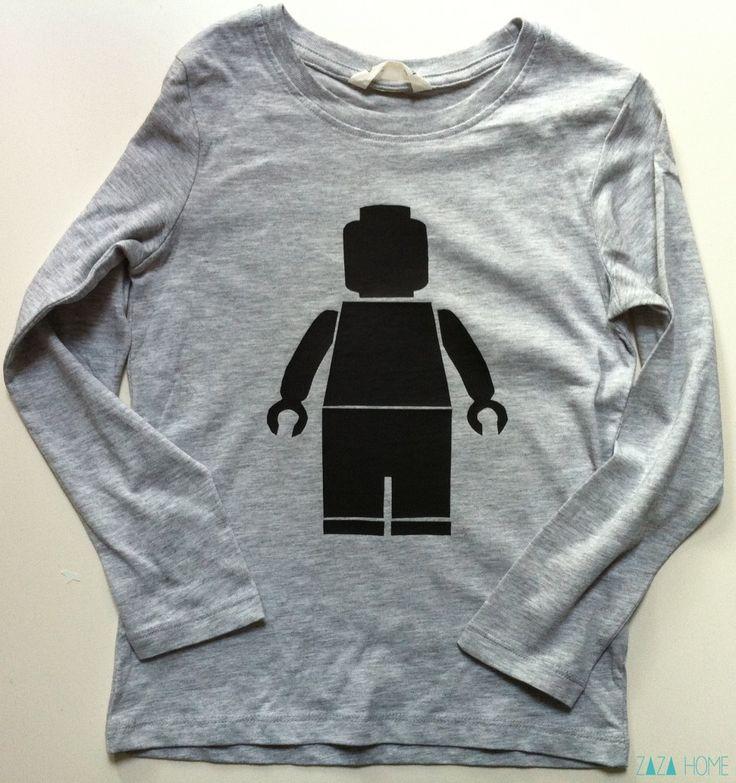 DIY tee shirt LEGO