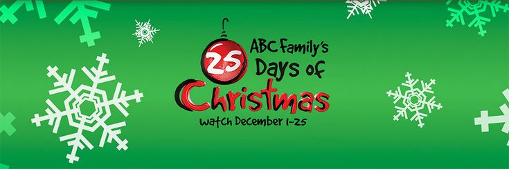 Start clearing your schedule and chilling your eggnog. ABC Family has finally unveiled the full schedule for 25 Days of Christmas, and it's stacked with all the tinsel and snowflakes to have you completely Christmas-ed out by Dec. 25.