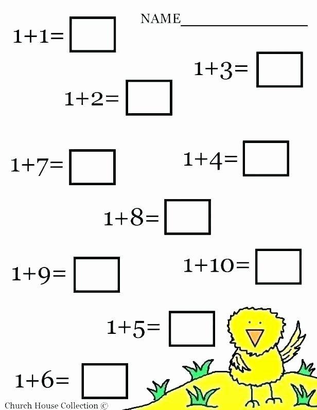 Missing Number Worksheets Kindergarten Kindergarten Number