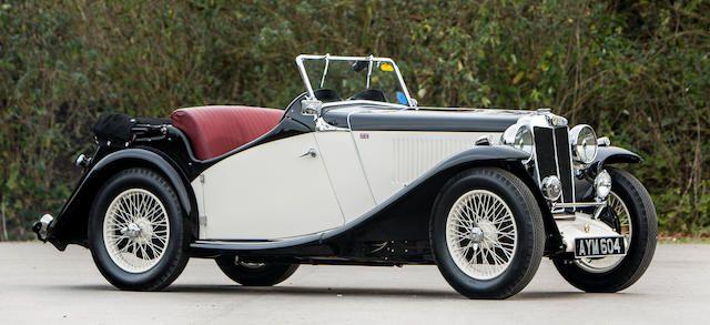 1934 MG Magnette NA Tourer  Chassis no. NA 0371