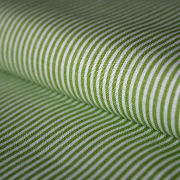 Bavlněná látka Zelený proužek