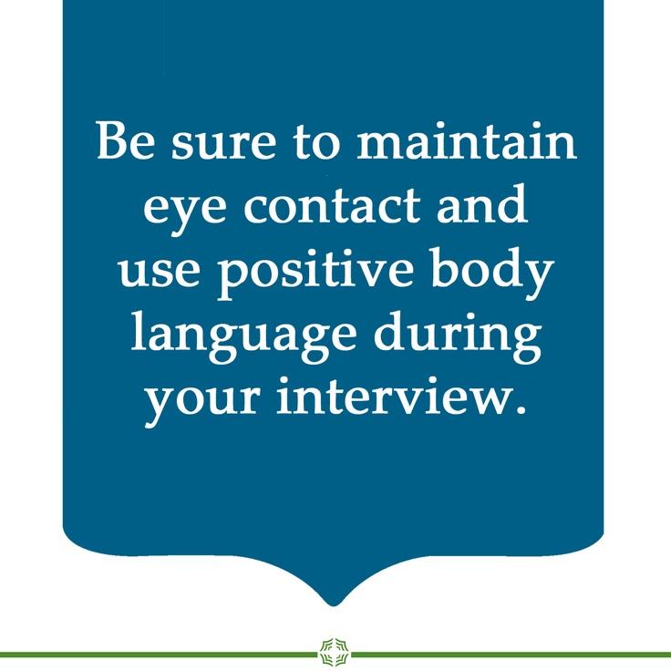 prolonged eye contact body language