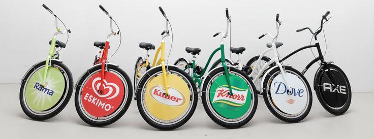 Werbefahrrad.at - Fahrradwerbung