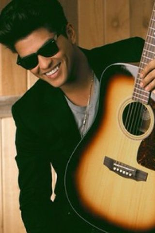 "Bruno Mars- He's kinda cute, but after listening to his song ""Gorilla"" on his new CD... homeboy can get it any way he wants."