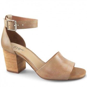 Codie Sandal   Beige Heeled Sandals   Wittner Shoes