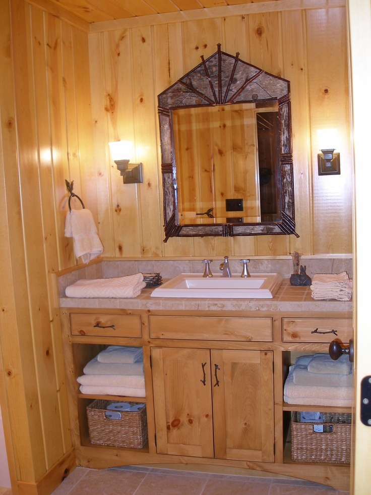 17 best images about bathroom on pinterest knotty pine for 6ft bathroom ideas