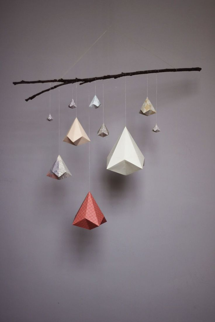 How To Make A Simple Origami Crane Mobile