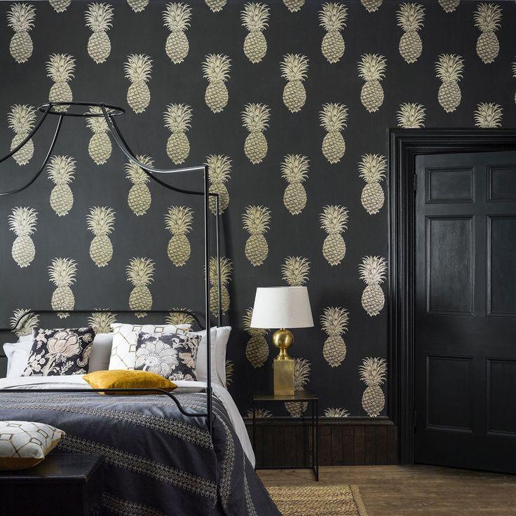 papier peint sanderson papier peint design ides magnifiques par sanderson uk papier peint. Black Bedroom Furniture Sets. Home Design Ideas