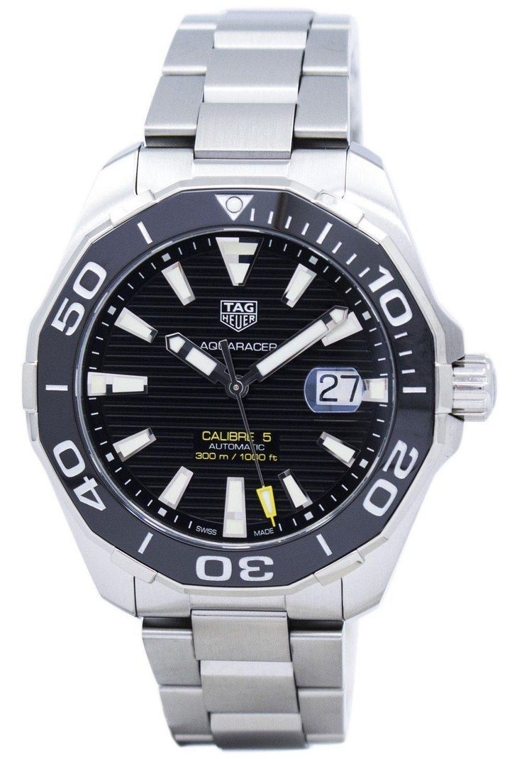 Tag Heuer Aquaracer Automatic 300m Way201a.ba0927 Men's Watch