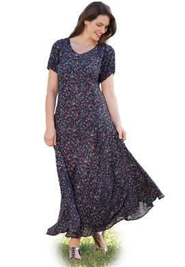 Maxi dresses plus size petite