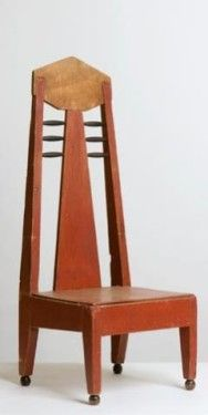 Chair, Hildo Krop | Hildebrand Lucien (Hildo) Krop (February 26, 1884, Steenwijk, Overijssel – August 20, 1970) was a prolific Dutch sculptor and furniture designer, widely known as the city sculptor of Amsterdam