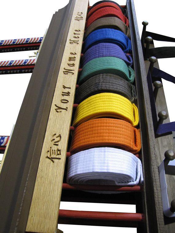48 best images about karate belt displays on pinterest for Zimmerdekoration