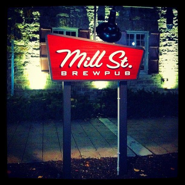 Mill St. Brew Pub in Ottawa, ON