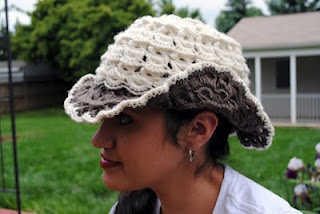 crochet cowboy hat: Lace Hats, Hats Patterns, Cowboys Hats, Crochet Ideas, Crochet Hats, Free Patterns, Boho Broomstick, Crochet Kittens, Broomstick Lace