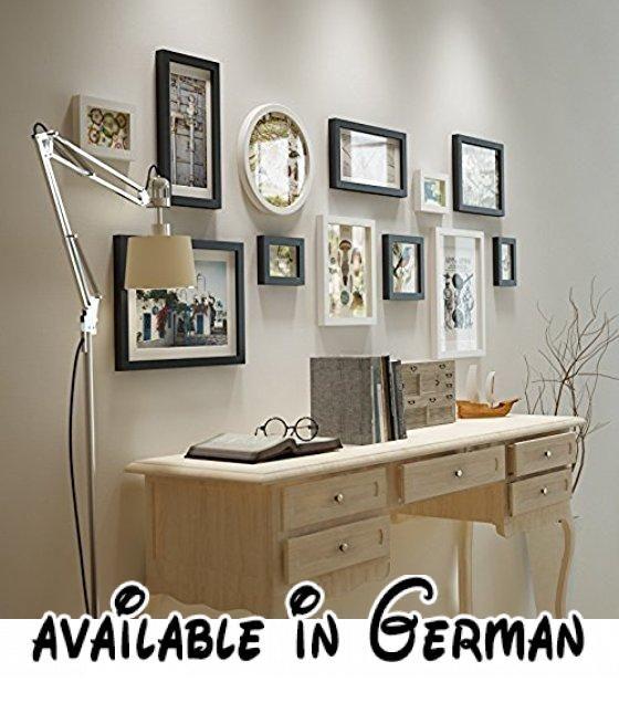Perfekt Das Wohnzimmer Wand Art Decor Bilderrahmen Kombination Im Esszimmer  Schlafzimmer Bett WandbilderDassKombinierte W1,89 Hohe0,74M Massivholz  Schwarz U2026