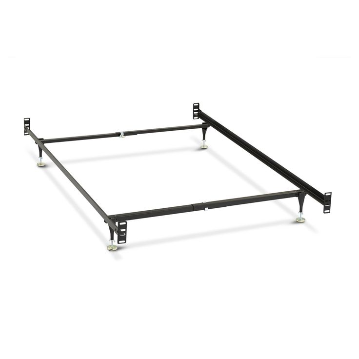 Metal Bed Frame - Full/Twin Size Headboard/Footboard Conversion Kit - 19993690