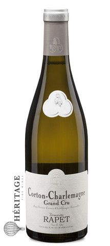 Domaine Rapet - Corton-Charlemagne Grand Cru  Region : Burgundy  Appellation : Corton Charlemagne Grand Cru  Vintage : 2012  Varietal : Chardonnay  Price: $164.99