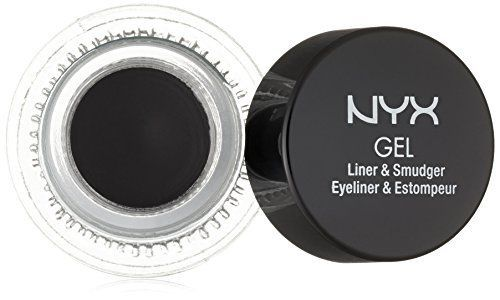 NYX Cosmetics Gel Eyeliner and Smudger Betty Jet Black 011 Ounce ** Read more  at the image link.
