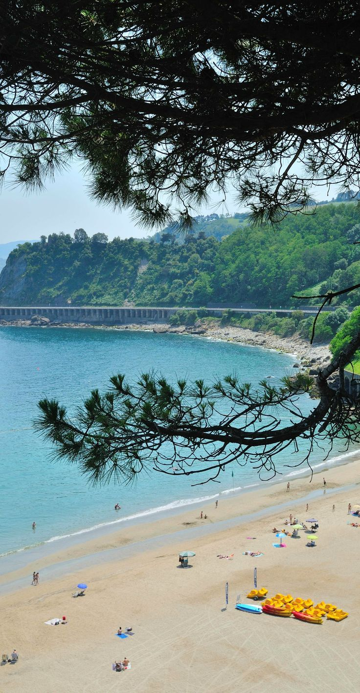 Getaria, Spain makes for a great day trip from Bilbao.