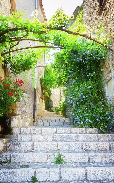 Old Town Of #Provence Street, #France  by Anastasy Yarmolovich #AnastasyYarmolovichFineArtPhotography  #travel