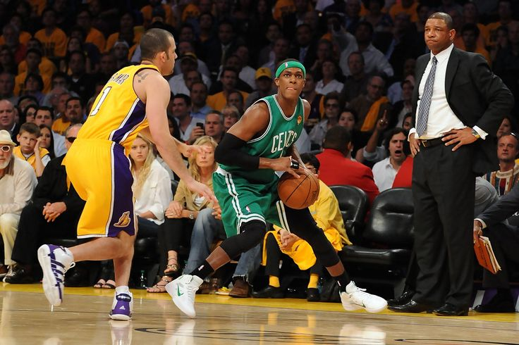 Rajon Rondo - NBA Finals Game 1:  Boston Celtics v Los Angeles Lakers