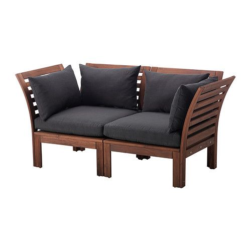 112 best a girl needs a funky patio retreat images on - Ikea sofa exterior ...