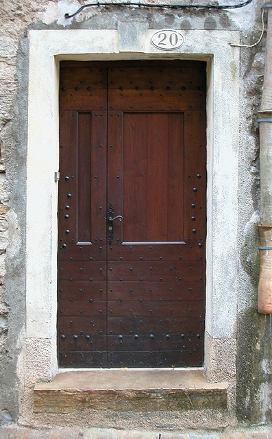 Door 20, Saint-Guilhem-le-Desert, France