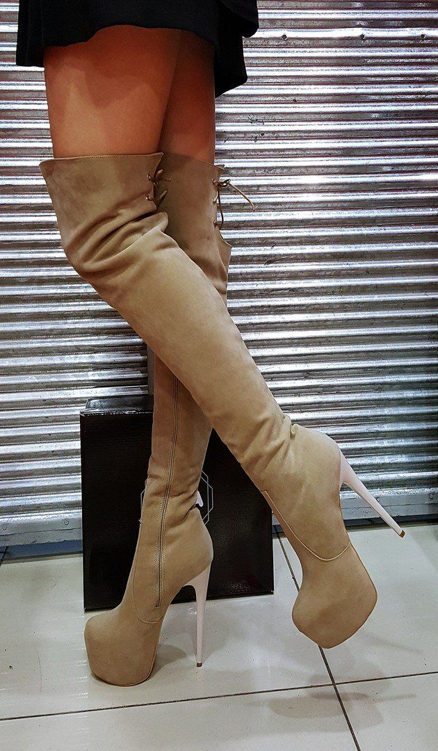 Boots, High heel boots