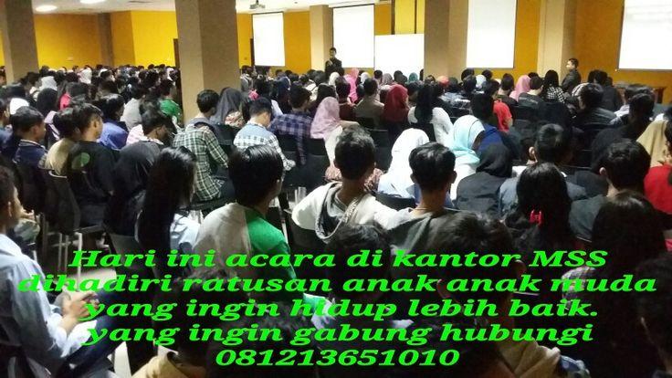 Anda tidak perlu lagi ragu, karna keraguan anda sudah diwakili oleh jutaan rakyat Indonesia yang sudah duluan bergabung.  Untuk bergabung hubungi 081213651010