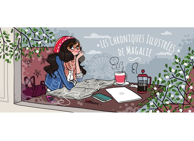 Magalie F : Illustrations pour l'agence Virginie - Virginie